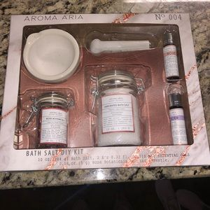 DIY Aroma Therapy Bath Salts Kit